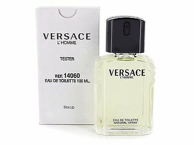 Versace L'Homme 100ml Edt TESTER