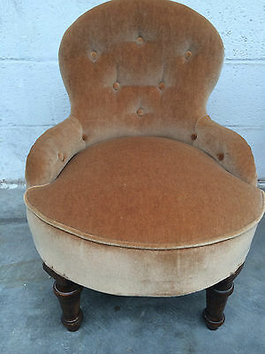 Vintage Nursing Childs Upholstered Chair