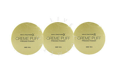 Max Factor Creme Puff Pressed Powder - Choose Shade - | Rrp £12.99 |