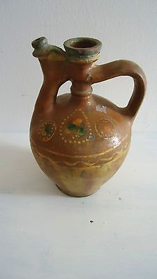 Antique Greek Pottery from Paros Island- olive oil PITCHER