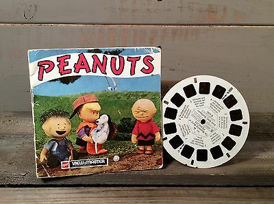Vintage View Master Film Reel - Peanuts from 1970