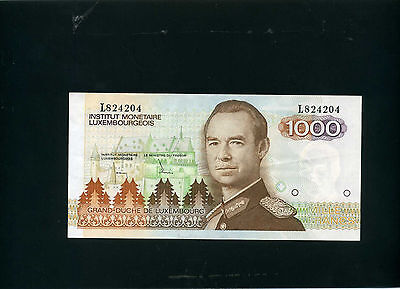 Luxembourg 1000 francs 1985 - VF/XF