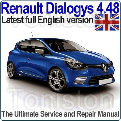 Renault Dialogys v4.48 2016 Workshop Manual and EPC (English Only) All Models