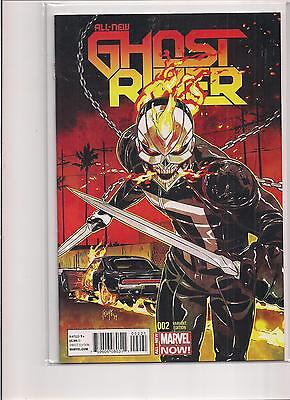 All New Ghost Rider #2 1:50 2014 Variant Marvel Comic Book. NM!