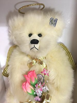 """Angel Heart""  Annette Funicello Teddy Bear #112 Limited Edition NIB MInt"