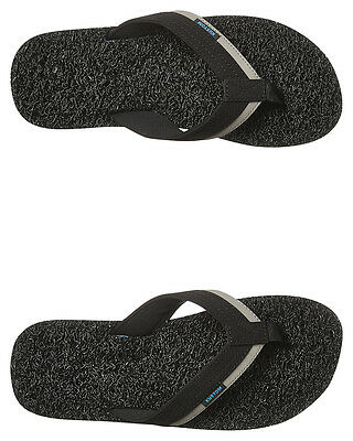 New Kustom Men's Noodle Supreme Thong Synthetic Mens Shoes Black