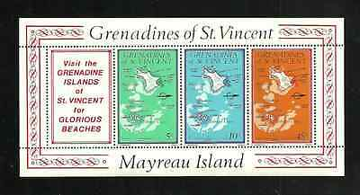 Grenadines Of St Vincent Postal Issue 1976 - Mayreau Island - Mint Booklet Pane