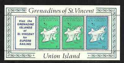 Grenadines Of St Vincent Postal Issue 1976 - Union Island - Mint Booklet Pane