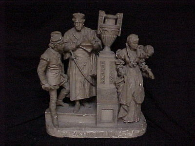 John Rogers Group of Statuary 'Ha! I Like Not That !'  Shakespeare