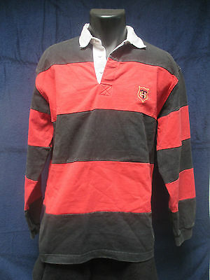 maillot STADE TOULOUSAIN TOULOUSE RUGBY  VINTAGE    shirt jersey
