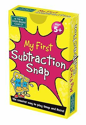 My First Subtraction Snap + Pairs Card Game - BrainBox - Maths Teaching Resource
