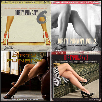 Dirty Punany Collection DJ & SCRATCH TOOLS 4 Turntablist