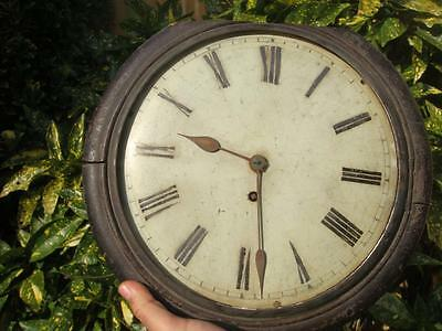 Clock Parts Wall Clock  Fusee Movement  For Parts Or for  Spare  Antique  Parts