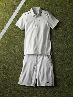 Never worn - Size Small - Nike Federer Outfit Shirt and Short Wimbledon 2011