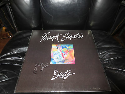 Frank Sinatra signed Duets lp record