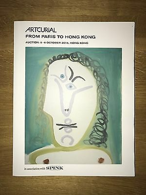 Catalogue Artcurial From Paris To Hong Kong (2) Octobre 2015 NEUF.