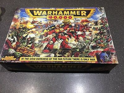warhammer 40k 2nd Edition Boxed Game 1993