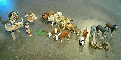 Miscellaneous lot of Schleich figurines