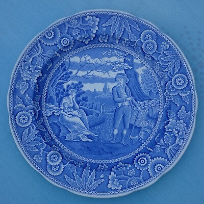 The Spode Blue Room Collection 'Woodman' Plate