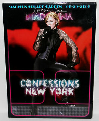 Madonna - Confessions Tour New York Madison Square - Dvd Digipack - Region Free!