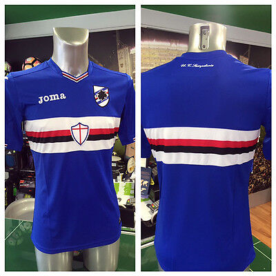Camiseta De Fútbol Jersey Football Joma Home Sampdoria 2016/2017 Sampdoria