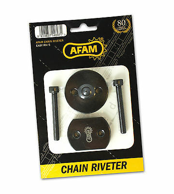 Afam Easyriv5 Motorcycle Chain Press & Rivet Tool - 520/525/530 Pitch Chains