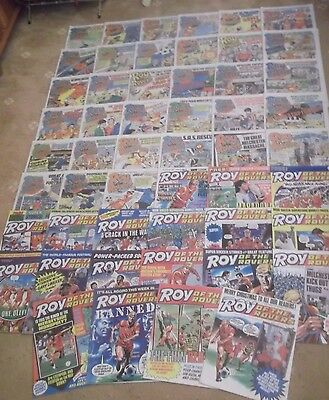 53 x ROY OF THE ROVERS from 1986 - Complete Year