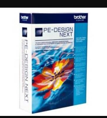 BROTHER PE-DESIGN NEXT 9 - EMBROIDERY SOFTWARE  Download Only