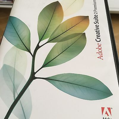 Adobe Creative Suite 2 Premium Software For MAC - Licence/4 Install Disks