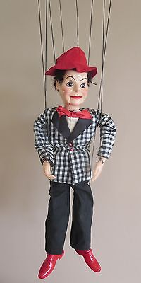 Hazelle's Talking Marionette Puppet Tommy Master of Ceremonies #412 Exc Cond