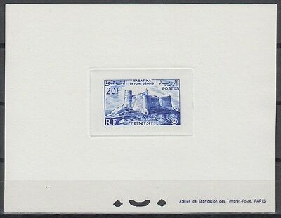 Tunisia Sc246 Architecture, Genoese Fort, Tabarka, Deluxe Proof
