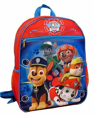 Boys Paw Patrol School Blue Backpack Lunch Box Book Bag Set Kids Childrens NEW