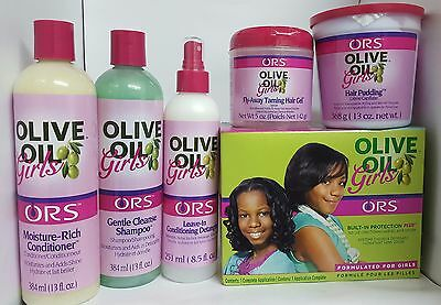 Ors Olive Oil Girls,kids Hair Products **full Range** Free Postage