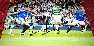 "Kenny Miller signed 12x8"" rangers photo / COA"