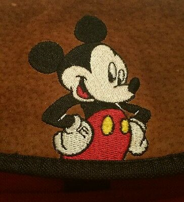 Vintage Mickey Mouse Unlimited Backpack Bookbag Bag Youth