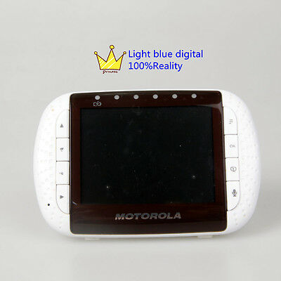 USA express Motorola MBP36PU Remote Wireless Video Baby Monitor 3.5 Inch creen