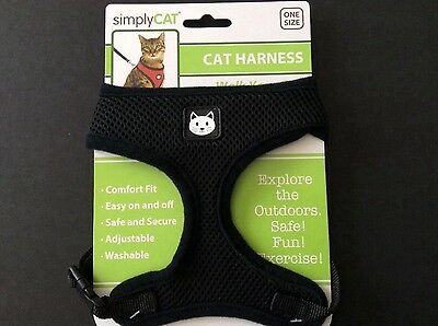 Cat Walking Harness by Simply Cat one size 8-15 lbs