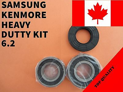 FRONT LOAD WASHER,2 TUB BEARINGS AND SEAL, Samsung,Kenmore ,KIT # 6.2 DC62-00223