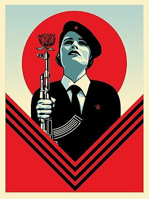 Peace Guard 2 by Shepard Fairey S/N of 450 Screen Print Poster Obey Giant