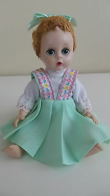 "Vintage  Madame Alexander Doll - 8"" Little Genius"