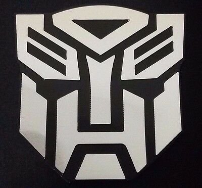 3D OPTIMUS PRIME Transformers Autobot Emblem Badge for Car or PC Logo