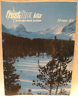 Vintage 1975 Frostline Kits Outdoor Hiking Camping Gear Tent Catalog - Rare!
