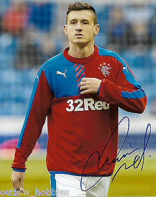 Glasgow Rangers Fraser Aird Autographed Signed 8x10 Photo COA