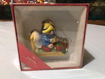 Schmid Paddington Bear The Night Before Christmas Ornament