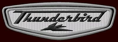 """TRIUMPH THUNDERBIRD EMBROIDERED PATCH ~5"""" x 1-3/4"""" MOTORCYCLE TIGER DAYTONA T509"""