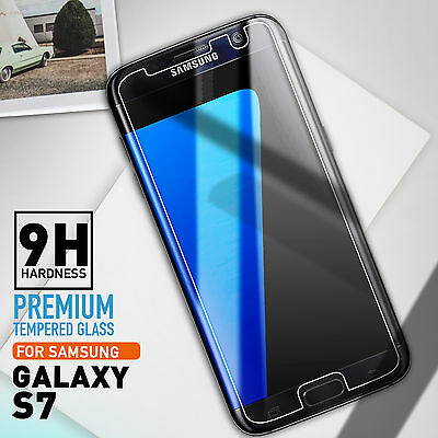 2X Genuine NUGLAS Tempered Glass Screen Protector for Samsung Galaxy S7