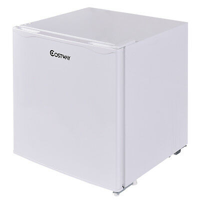 New 50 Litre Compact Refrigerator Mini Fridge White Under Counter Cooler Freezer