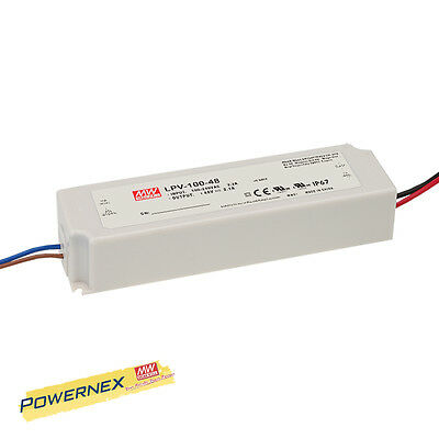 MEAN WELL MEANWELL NEW LPV-100-12 12V 8.5A 100W Single Output Power Supply