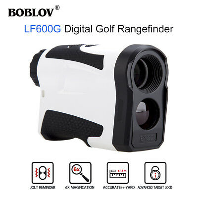 BOBLOV Monocular Rangefinder 600M Flag Locking Meter Speed Measurer Rechargrable