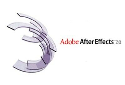 GENUINE Adobe After Effects 7.0 - Windows - Download